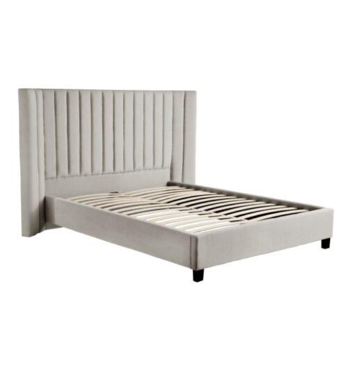 Lulu Bed - Light Grey