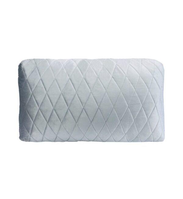 Coco Lumbar Cushion - Blue Grey