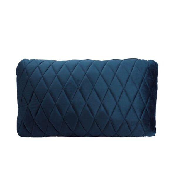 Coco Lumbar Cushion - French Navy