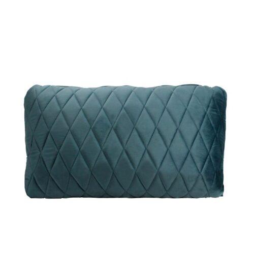 Coco Lumbar Cushion - Steel Blue