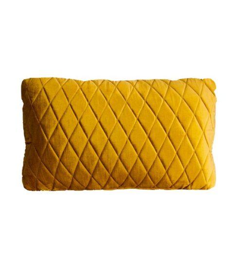 Coco Lumbar Cushion - Vintage Marigold