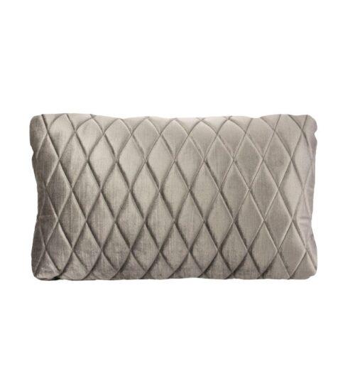 Coco Lumbar Cushion - Vintage Pebble
