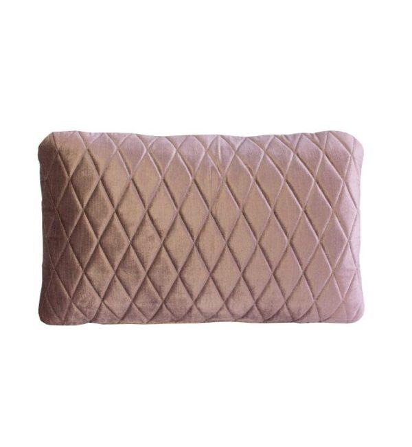 Coco Lumbar Cushion - Vintage Rose