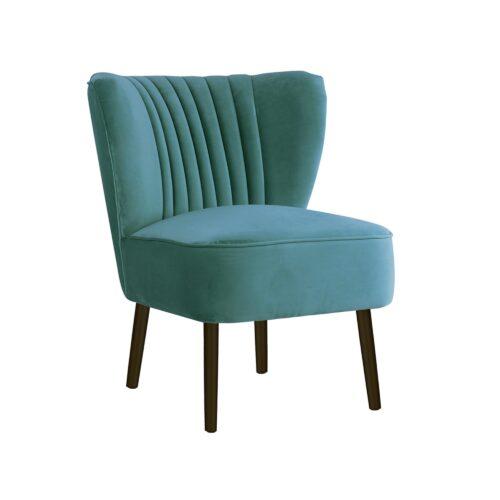 Aqua Slipper Chair