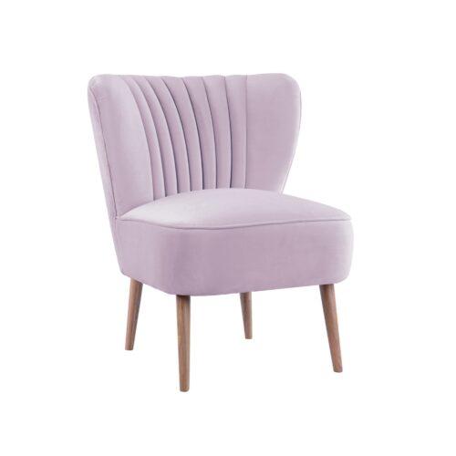 Lilac Slipper Chair