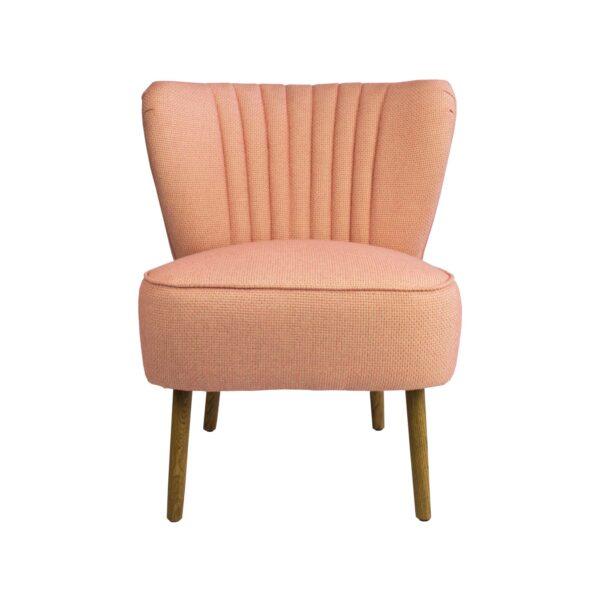 Coral Slipper Chair