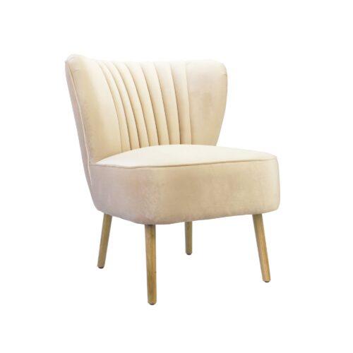 Nude Slipper Chair