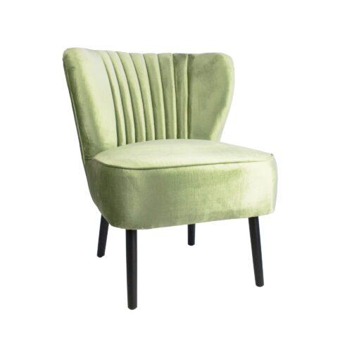Vintage Sage Slipper Chair