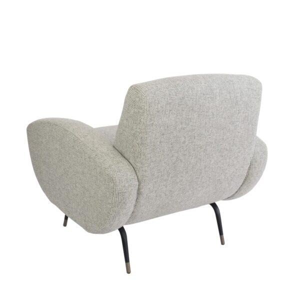 Kennedy Armchair - Natural Grey