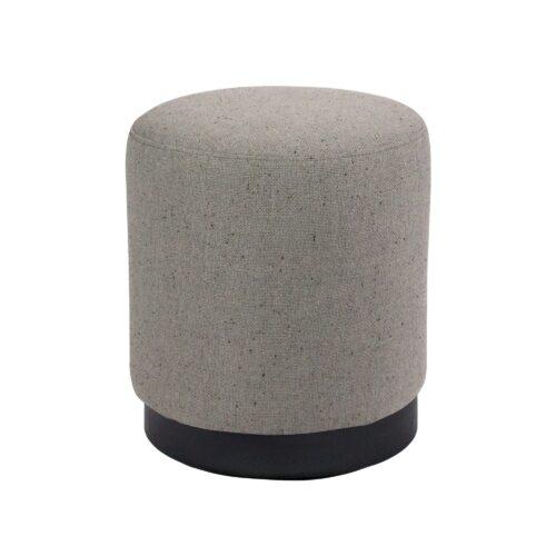 Tribeca Small Ottoman - Grey
