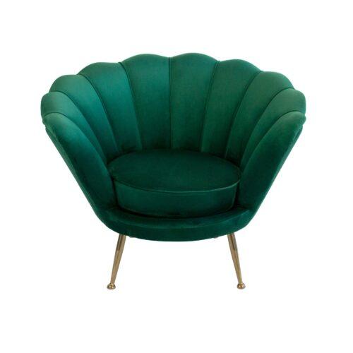Green Shell Armchair