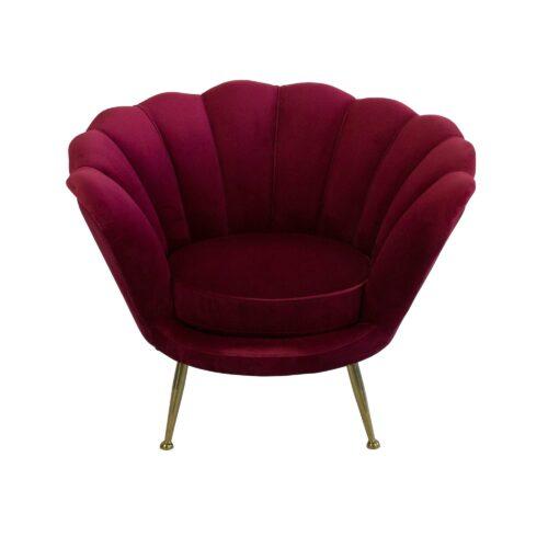 Ruby Shell Armchair