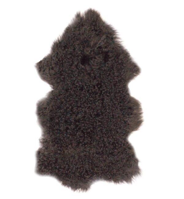 Tibetan Fur Hide - Charcoal