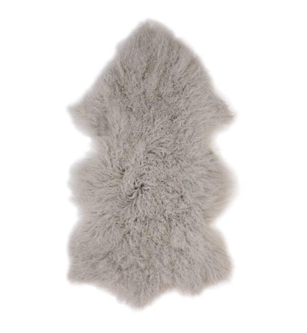 Tibetan Fur Hide - Grey