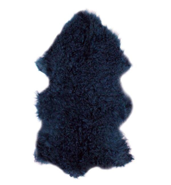 Tibetan Fur Hide - Navy