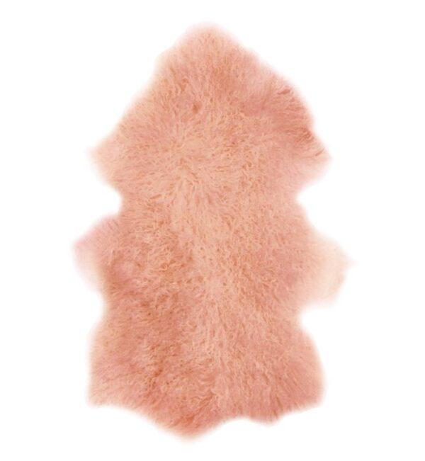 Tibetan Fur Hide - Pink