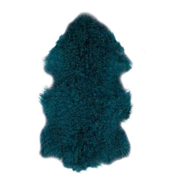 Tibetan Fur Hide - Peacock