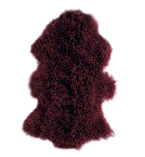 Tibetan Fur Hide - Plum