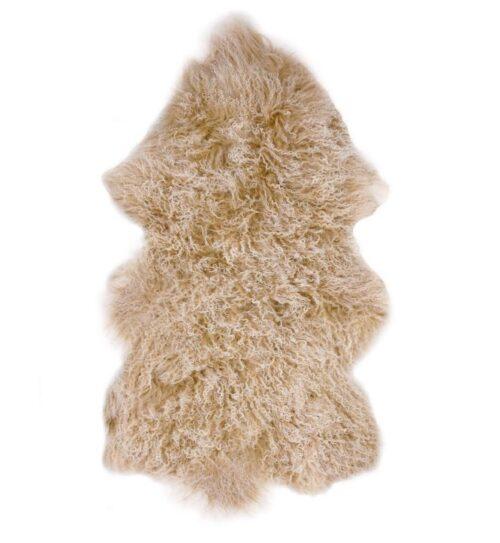 Tibetan Fur Hide - Snowflake