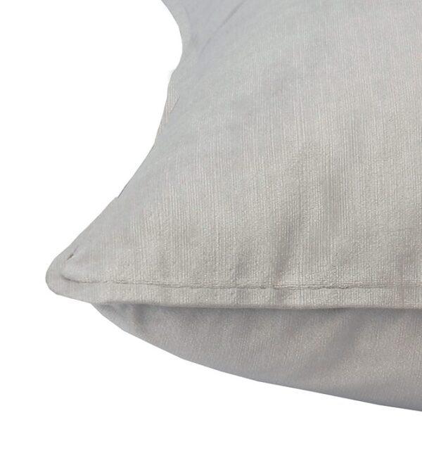 Soho Velvet Lumbar Cushion - Pebble Grey