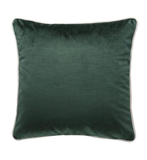 Soho Velvet Cushion - Ivy Green